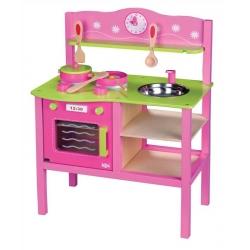 Vaikiška medinė virtuvėlė  My First Kitchen su priedais