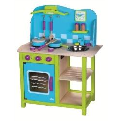 Vaikiška medinė virtuvėlė My Cosy Kitchen su priedais