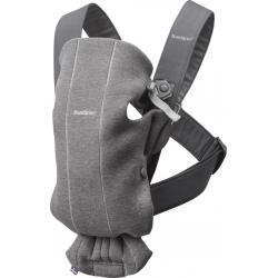 BabyBjorn Mini Dark Grey Jersey nešynė