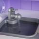 Daugiafunkcine virtuvėlė su garsais ir tikru vandenuku