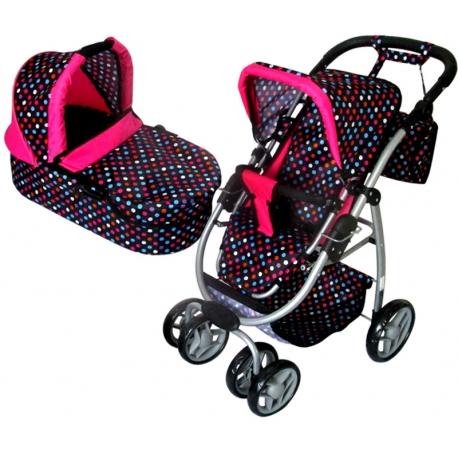 Vaikiškas lėlių vežimėlis