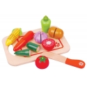 Medinis pjaustomų daržovių rinkinys
