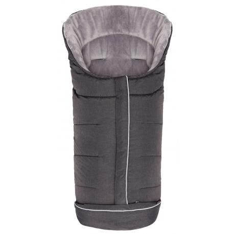 Vokelis-miegmaišis K2 Soft Pongee Black 100x50 cm.
