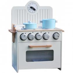 Medinė virtuvėlė Mini su aksesuarais
