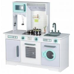Medinė virtuvėlė XXL su indais