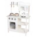 Medinė virtuvėlė White Multi su priedais
