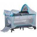 Maniežas  - kelioninė lovytė Multi Plus Grey su priedais