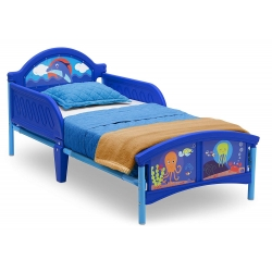 Vaikiška lova Vandenynas 140x70 cm.