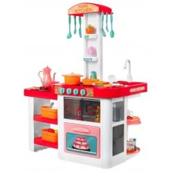 Daugiafunkcine virtuvėlė su garsais ir tikru vandenuku Pink
