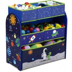 Žaislų lentyna su 6 stalčiukais Kosmosas