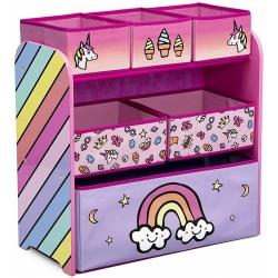Žaislų lentyna - komoda Unicorn