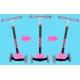 Triratis paspirtukas Pink su šviečiančiais Led ratais