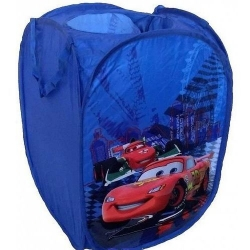 Pop Up žaislų krepšys  - dėžė Disney Cars