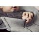 BabyBjorn Soft 3D Jersey Light Grey gultukas-kėdutė