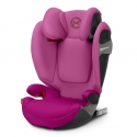Cybex Solution S-Fix Fancy Pink autokėdutė