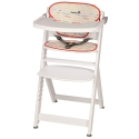 Medinė maitinimo kėdutė Safety1st Timba White + įdėklas