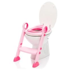 Tualeto treneris Rosa su minkšta sėdyne