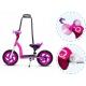 Balansinis dviratis–paspirtukas ROY Candy Rose + šalmas
