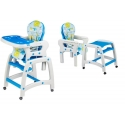 Maitinimo kėdutė–transformeris Blue 2in1