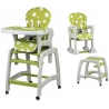 Maitinimo kėdutė–transformeris Green Circle su lingėmis