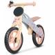 Medinis balansinis dviratis Casper Terracotta + DOVANA