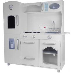 Vaikiška medinė virtuvėlė Lena su šaldytuvu