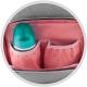 Krepšys - kuprinė kūdikio daiktams Canpol Babies