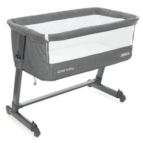 Lovytė - lopšiukas Coto Baby Dolce Grey