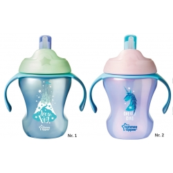 Tommee Tippee Easy Drink Straw puodelis nuo 6 mėn. (talpa - 230 ml.)