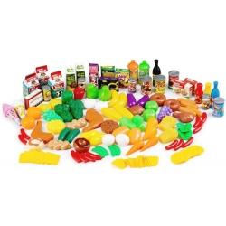 Žaislinis maistas 120 vnt.