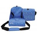 Kompaktiška kėdutė Asalvo Stars Blue