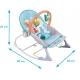 Vibro kėdute – gultukas Owl iki 18 kg.