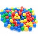 Spalvoti plastikiniai kamuoliukai, 100 vnt.