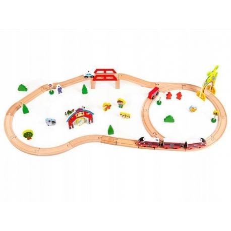 Traukinių trasa 53 detalės