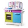 Vaikiška medinė virtuvėlė Julia su priedais