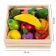 Medinis pjaustomų vaisių rinkinys dėžutėje Multi