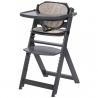Medinė maitinimo kėdutė Safety1st Timba Grey + įdėklas