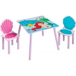 Disney Ariel staliukas su dviem kėdėm