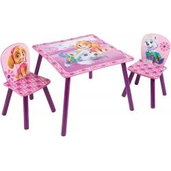 Worlds Apart Paw Patrol staliukas su dviem kėdėm