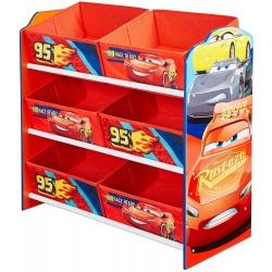 Cars žaislų dėžė - lentyna
