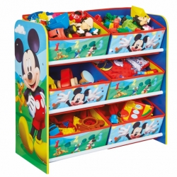 Žaislų lentyna su stalčiukais Mickey