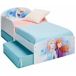 Medine vaikiška lova Frozen su stalčiais