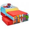 Medinė lova su stalčiais Superherojai