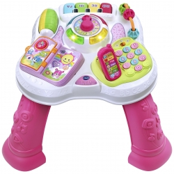 Vtech veiklos staliukas Learn and  Pink