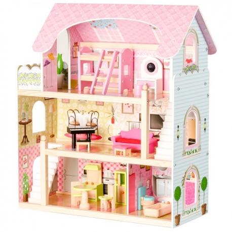 Medinis lelių namas