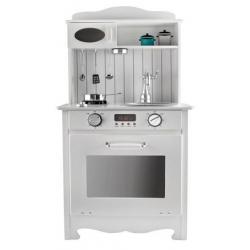 Medinė virtuvėlė Compact su aksesuarais