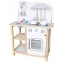 Vaikiška medinė virtuvėlė su garsais