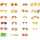 Medinis pjaustomų maisto produktų rinkinys kibirėlyje
