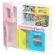 Medinė virtuvėlė XXL Multicolor su indais
