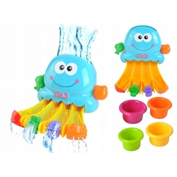 Vonios žaisliukų rinkinys Linksmasis Aštuonkojis
